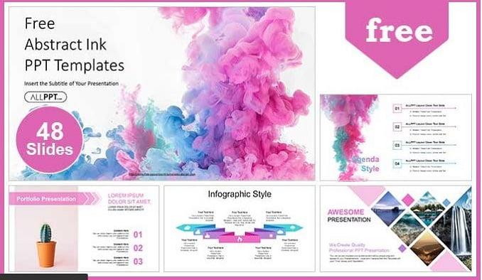Pink Powerpoint Presentation