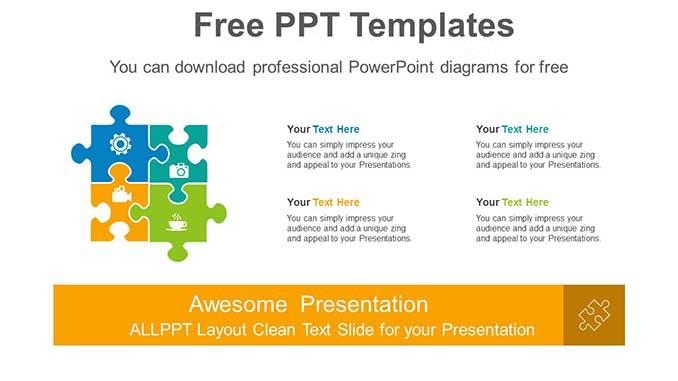 4-part-Puzzle-PowerPoint-Diagram-post-image