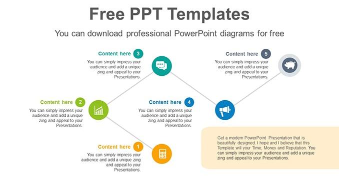 Business Achievement Bent-line-flow-PowerPoint-Diagram-Template-post-image