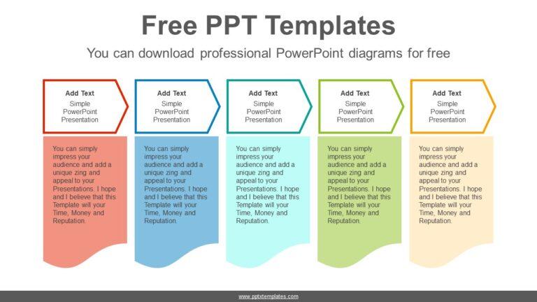 Communication flow chart PPT Sample Chevron-Arrows-PowerPoint-Diagram