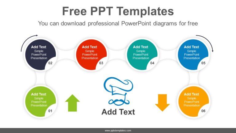 Circle-Arrow-Flow-PowerPoint-Diagram