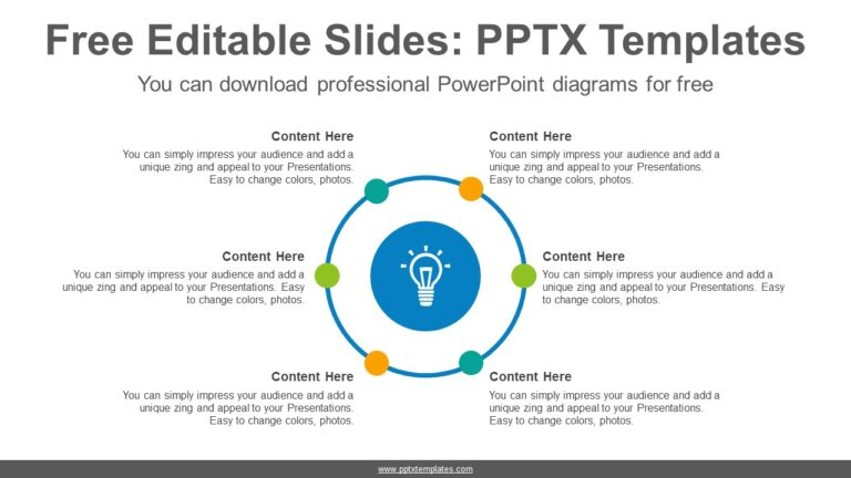 Circle-radial-dot-PowerPoint-Diagram-Template