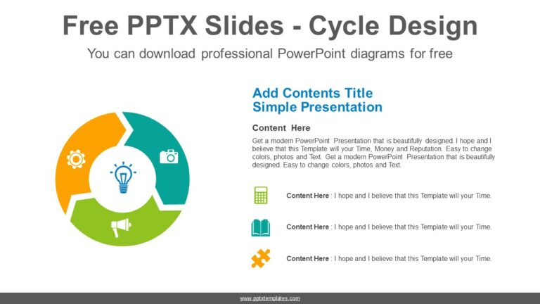 Doughnut-arrow-PowerPoint-Diagram-Template