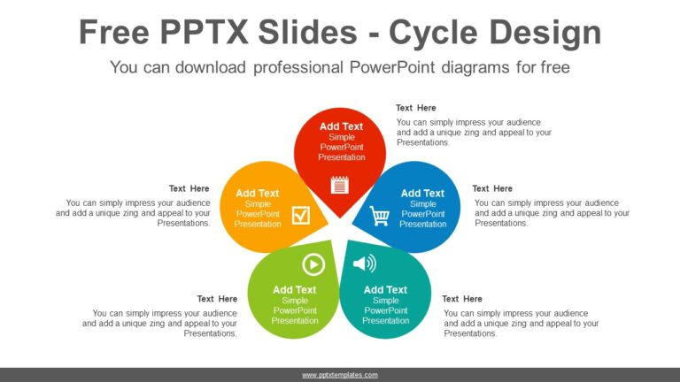 Five-petals-flower-PowerPoint-Diagram-Template
