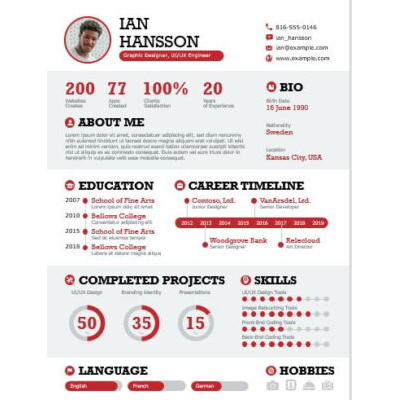 Bold Infographic